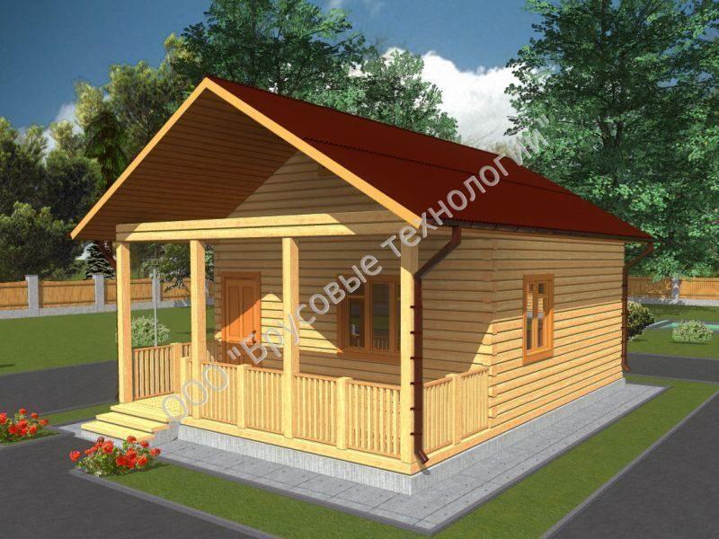 Готовые проекты загородных домов до 100 кв м