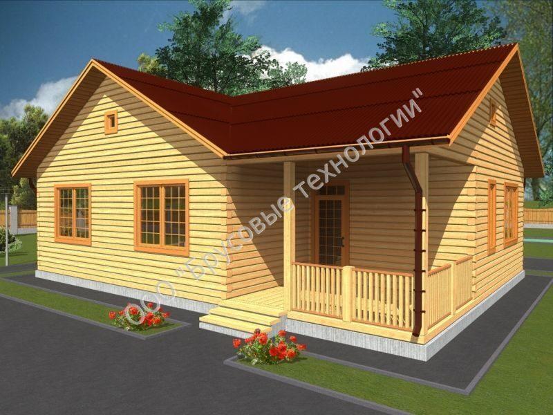 Дом 9 на 12 планировка с мансардой фото - fd